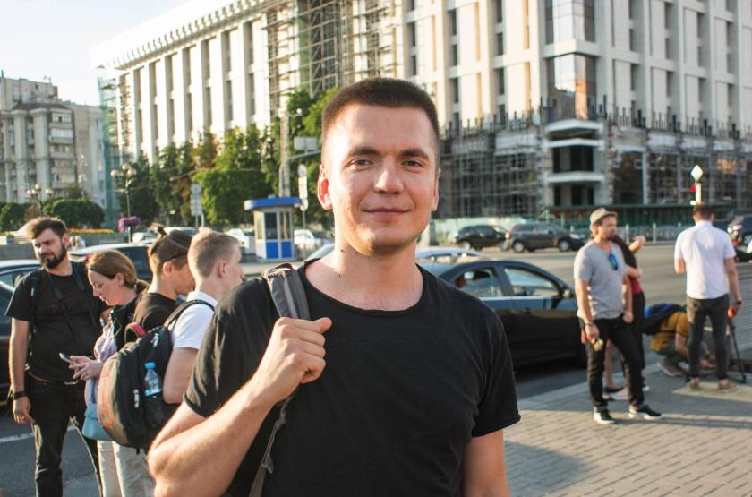 Віталій Дейнега - Майдан